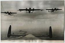 WWII Foto DORNIER Do 215 Bomber Deutsche Luftwaffe Feindflug England 1940 Raid