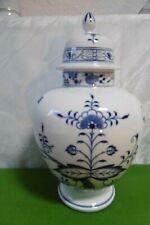Meissen exklusive riesige Deckel Vase Zwiebelmuster H = 33 cm ..............Top!