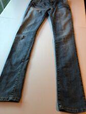 Urban Heritage straight leg  Distressed Denim Jeans  women's/ jr size 1
