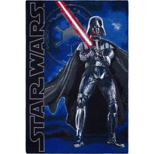 Play Rug Carpet kids Darth Vader Star Wars Sith-Lord black blue 95x133 cm