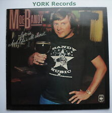 MOE BANDY - Love Is What Life's All About - Excellent Con LP Record CBS 83174