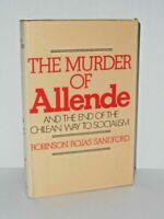 Murder of Allende Hardcover Robinson Rojas