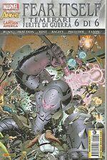 Fear Itself: I Temerari - Ferite di Guerra N° 6 - Marvel World 14 - NUOVO