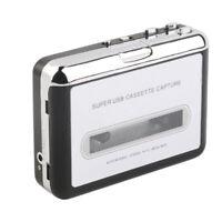 USB Lecteur Casette Magnétophone Convertisseur Casette en MP3 Enregistreur