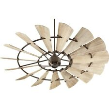 Quorum 72' Windmill Ceiling Fan, Oiled Bronze - 97215-86