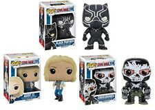 Black Panther 130 Agent 13 131 Crossbones 134 Funko Pop! 3 Set Civil War