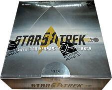 Star Trek 50th Anniversary Factory Sealed Trading Card Box