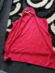 Angry Birds Hooded Fleece Blanket