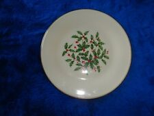 """Lenox Special Holly Berry 8"""" Dessert/Bread Butter Plate"""