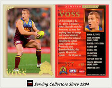 HOF-2012 AFL Eternity Hall Of Fame Limited Edition HF215 Michael Voss (Brisbane)
