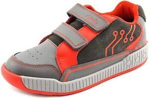 Clarks  Boys Zander Go J Shoe,Grey 67425