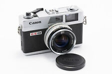 (98) Canon Canonet QL17 w/40/1.7 lens, front cap, fully functional, very nice
