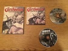 Cutthroats: Terror on the High Seas - Windows PC CD-ROM - EIDOS - With Manual