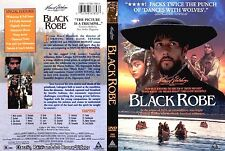 Black Robe ~ New DVD ~ Lothaire Bluteau, Sandrine Holt, Aden Young (1991)