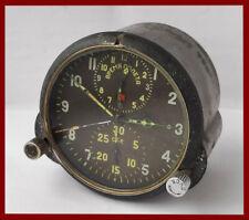 Flugzeuguhr AChS-1M Soviet aircraft military clock USSR MIG chronograph sale