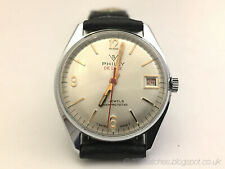 Vintage 70s Philly Retro Funky Manual Sports Watch New Old Stock Fully Serviced