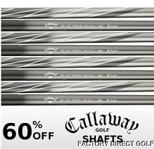 8 New Callaway ULTRALITE Regular Flex Graphite Iron Shafts .370 40.5""