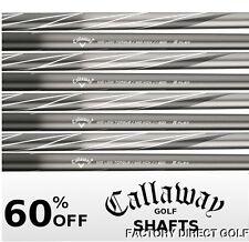 "8 New Callaway ULTRALITE Regular Flex Graphite Iron Shafts .370 40.5"""