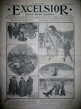 MONACO CONCOURS DE CHIENS DE POLICE ITALIE PROCES DE LA CAMORRA EXCELSIOR 3/1911