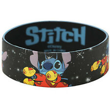 New Disney Lilo & Stitch Alien Space Ace Rubber Bracelet Wristband