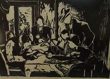 Linoldruck Gretchen Wohlwill  (1878-1961)                             /4543