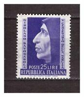 S21594) Italy MNH 1952 Savonarola 1v