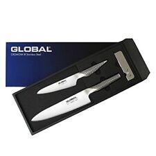 Global GST-B2 Gyuto Petti Knives Sharpener 3piece set Kitchenware NEW from Japan