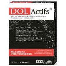 Synactifs Dolactifs Boite de 15 gélules (états inflammatoires)