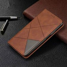 Cell Phone Case Wallet Magnetic Flip Cover Kickstand Shockproof Card Holder Tool