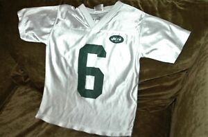 Mark Sanchez jersey! New York Jets YOUTH small 8 vintage NFL road white