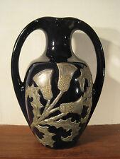 Ancien et rare Vase en Grès de Pierrefonds Signé ETAINS d'ART PROMSY Art Nouveau