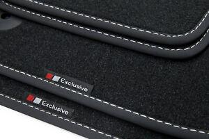 Exclusive-line Design Fußmatten für Audi A4 B9 8W Avant Kombi Limo Bj. 2016-