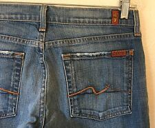 Women's 7 For All Mankind Boot Cut Stretch Jeans  Sz 31