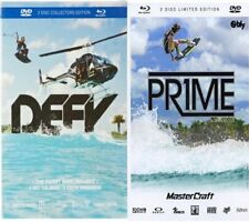 PRIME DEFY DVD Blu Ray 2-Pack Wakeboard Wakeskate Water Sports Extreme Sports