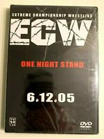 ECW - One Night Stand (DVD, 2005) Brand NEW, Free Shipping