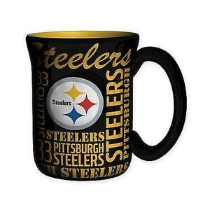 Pittsburgh Steelers NFL Sculpted Spirit 17oz Mug