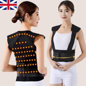 Self-heating Waistcoat Shoulder Waist Warmer Tourmaline Support Magnet Back Vest