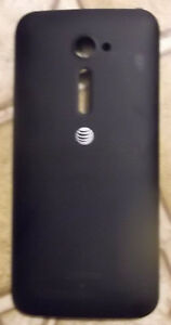 ASUS Zenfone 2E (AT&T) OEM Replacement Battery Door Back Cover - Black