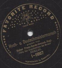 Kaiser Franz Garde Regiment Adolf Becker : Hoch und Deutschmeister Marsch