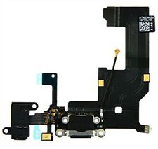 Charging Dock Port and Headphone Jack Flex Cable for iPhone 5 - Black  #861079