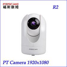 Foscam R2 2MP 1080P HD Pan Tilt  Wireless Security Surveillance IP Camera White