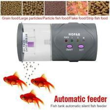 1xAutomatic Fish Tank Auto Feeder Aquarium Holiday Feeding Tropical Marine Feed