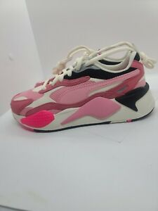 NEW! Puma RS X3 Puzzle Women's Sz 7.5 Rapture Rose Running Shoes 373797-06