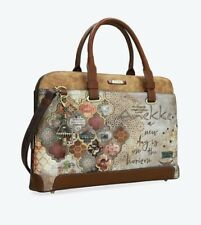Anekke Egypt Pretty Document Case With Arabesque Print Ladies handbag High Qu...