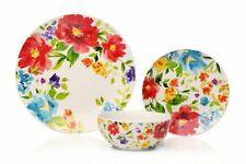 18pc Kitchen Dinnerware Floral Dîner Set Plaques Table à manger Service Pour 6