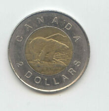 Canada 2003 Toonie Canadian 2 Dollar $2 Two Dollar Old Effigy EXACT COIN SHOWN