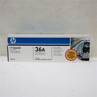 NEW HP 36A CB436A OEM Genuine Black Laserjet Toner Print Cartridge Sealed (QW)