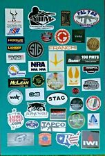 Lot of 40 Gun Related Stickers Nra Stag Magpul Sig More-Authentic Manufacturers!