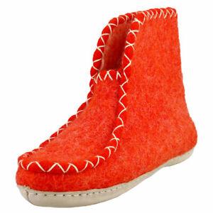 egos copenhagen Boot Rusty Red Unisex Rusty Red Slippers Boots - 7 US