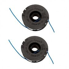 2 x Trimmer Strimmer Replacement Spool & line For Qualcast GT2826